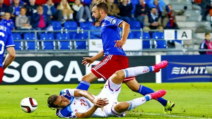 матч лихтенштейн-россия футбол евро 2016