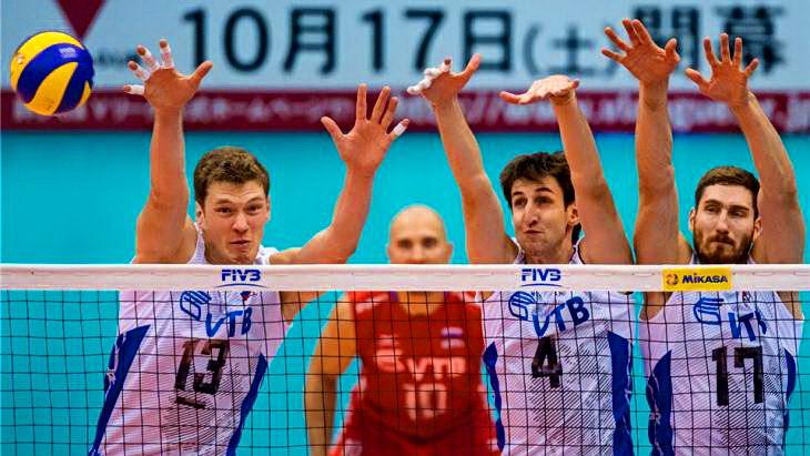 россия-тунис волейбол кубок мира 2015 мужчины