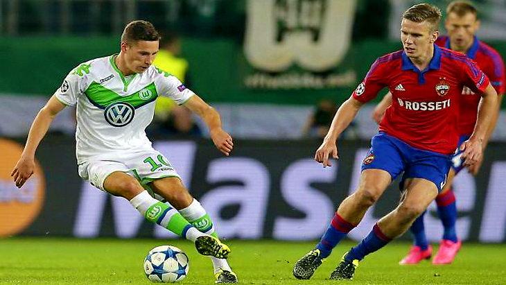 матч вольфсбург-цска футбол групповой этап лиги чемпионов