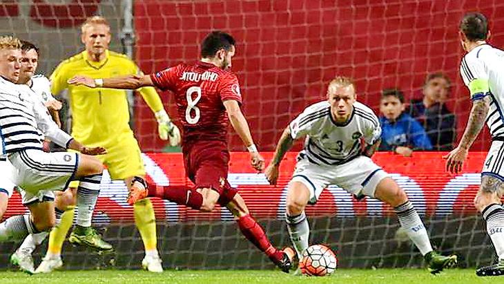 матч португалия – дания футбол евро 2016